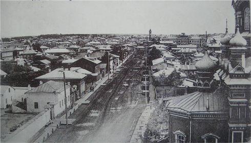(Справка: в 1730 г. в Иркутске насчитывалось 5 каменных строений, к концу века - 30)