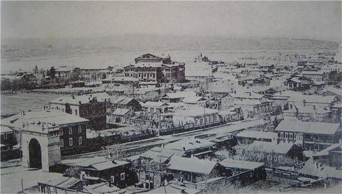 Вид города Иркутска. 1898 г.