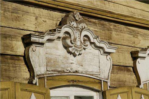 """Деревянный декор иркутских домов имеет несколько стилей, одним из которых является """"Сибирское барокко"""""""