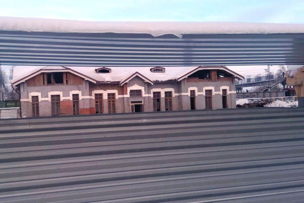Остановили разрушение старого вокзала в Бердске после возмущения общественности