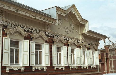 Орнаменты на фасадах домов