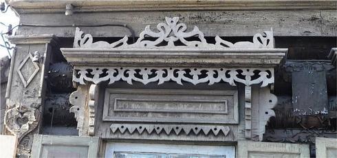 Восточные мотивы в Иркутском деревянном декоре
