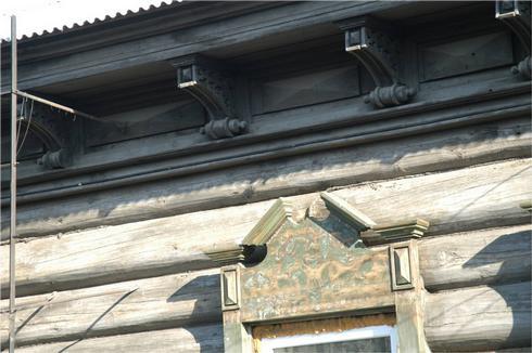 Декор иркутских домов