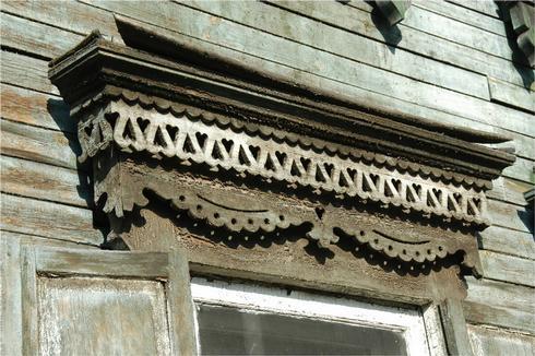 Декор фасадов иркутских домов