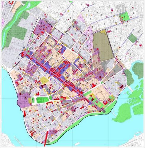 Объекты культурного наследия на карте Иркутска